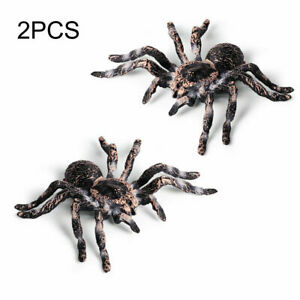 Kids Fake Realistic Spider Insect Model Halloween Joke Prank Props Scary Toy