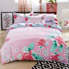 Multi Colour Floral Bedsheets Glace Cotton Double Bed sheet with pillow covers