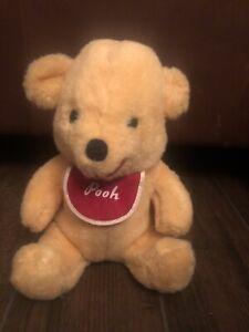 Vintage 1970s? Disney Pooh Bear Stuffed Plush 9 inch California Stuffed Toys