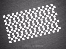 Zielflagge Aufkleber Auto Design Folie Streifen Seitenaufkleber Sticker Tuning