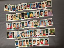 A&BC Complete Set of 73 Footballers (Scottish) 1st (Purple backs) 1971 Mint