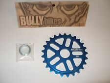 BULLY BMX GEAR 28T BLUE