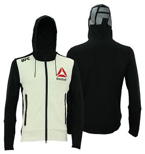 Reebok UFC Mens Full Zip Walkout Hoodie - Color Options
