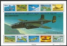 Palau -  MNH Souvenir Sheet WWII Aircraft in Pacific..............MSS......S 816