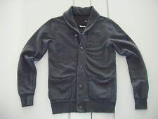 TOP Übergangs- Sweatshirt- Jacke   >  BENCH  <   Gr. S  grau  Cardigan