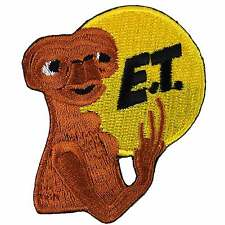 ET UFO Alien Retro Embroidered Iron on Patch