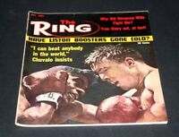 THE RING BOXING MAGAZINE MAY 1965 FLOYD PATTERSON VS GEORGE CHUVALO
