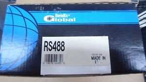 NEW BENDIX GLOBAL REAR BRAKE SHOES RS488 / 488 FITS VEHICLES LISTED ON CHART
