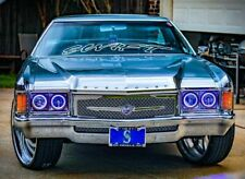 1971 Chevy Caprice Impala chrome mesh grill triple weave replacement grille