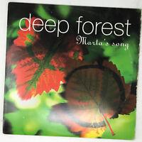 "Deep Forest Marta's Song Vinyl Record 1995 Rare Armand Van Helden Promo 12"""