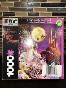 """Fairy Dreams Princess 1000 Piece Puzzle - 26"""" x 19"""" Poster Sized Puzzle by Garry"""