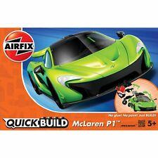 Airfix Quickbuild Beginner 36 Pc Model Supercar - Green Mclaren P1