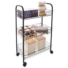ORION Kitchen / Bathroom Trolley / Shelves on Wheels / ORGANIZER