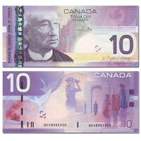 Canada 10 Dollars, 2005, P-102A, UNC, Banknotes, Original