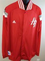 New Houston Rockets Mens Sizes 2XL-3XL +2 On Court Player Jacket $135