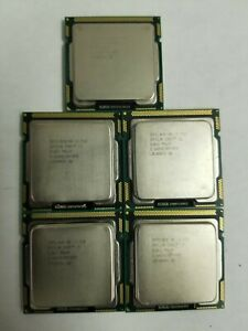 Lot of 5 Intel Core i5-750 2.66 GHz Processor SLBLC
