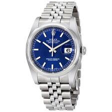 Rolex Datejust 36 Stainless Steel Mens Watch 116200-BLSJ