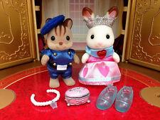 Rare Sylvanian Families / Calico Critters Toy kingdom Limited Original pair set