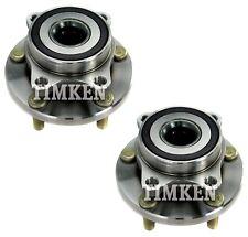 Pair Set 2 Front Timken Wheel Bearing & Hub Kits for Subaru Impreza Tribeca AWD