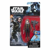 STAR WARS ROGUE ONE 3.75IN SERGEANT JYN ERSO (JEDHA) FIGURE FRESH CASE PULL NEW!