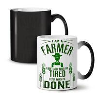 Farmer Job I Stop NEW Colour Changing Tea Coffee Mug 11 oz | Wellcoda