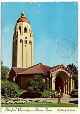 Stanford University Postcards Palo Alto 1971 Posted Hoover Institution Tower Vtg