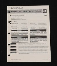 1974-81 CATERPILLAR D10 TRACK-TYPE TRACTOR ASSEMBLY MANUAL VERY GOOD SHAPE