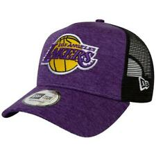NEW ERA SHADOW TECH ADJUSTABLE TRUCKER CAP. LOS ANGELES LAKERS. PURPLE