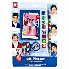 One Direction 1D Stationery Pencil & Eraser Set Party Loot Bag Fillers Gift