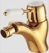 Singe hole bathroom bidet faucet mixer tap Gold clour