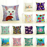 Pillow Case Creative Cartoon Animals Home Decor Cat Couch Benthos Cushion Cover