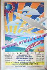 More details for crosby, stills & nash - 2005 tour promotional poster