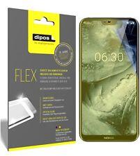 3x Nokia X6 2018 TA1099 Screen Protector Protective Film covers 100% dipos Flex
