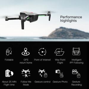 SG906 GPS Brushless 4K Drone with Camera Handbag 5G Wifi FPV RC Quadcopter P6Q9