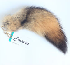 Fasihon Sexy Authentic Coyote Fox Wolf Tail Fur Cosplay Toy Handbag Accessory