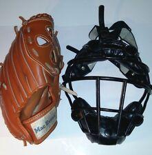 Gant pour droitier et grille de baseball