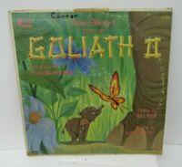 VTG Walt Disney Goliath II LP Record 1965