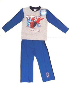 Marvel Ultimate Spider-Man Boy's Pajama Lounge-wear Sleepwear 4-5 YRS NWB