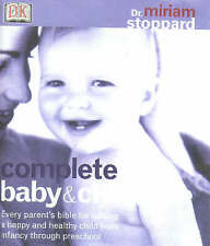 Complete Baby and Childcare by Dr Miriam Stoppard hardback New Mum's self help