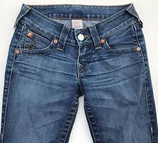 EUC RRP $349 Womens Stunning True Religion Brand 'BECKY' Blue Jeans 26
