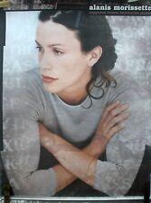 Rare Alanis Morissette Infacuation Junkie 1998 Vintage Record Album Promo Poster
