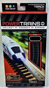 Power City Trains Oval Track Pack 8 Feet 14 Piece Jakks Pacific 2012