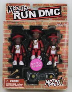 Rare Hip Hop DJ Mez-Itz Toy MEZCO RUN DMC Figure Doll Red Track Suit 2002 VTG OG