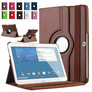 Smart Case Rotating Stand Leather Cover For Samsung Galaxy Tab A 10.1 8.0 Tablet