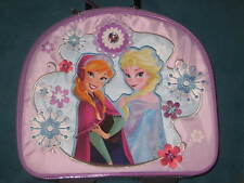 Disney Store Frozen Elsa & Anna Rolling Luggage Carry-On Suitcase Girls Kids