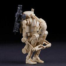 ": #83 Battle Droid In Hand loose Star Wars Black Series 6/"" inch Figure lot x2"