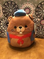 """Squishmallows-Chip the Beaver-8""""-NWT"""