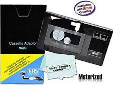Motorized VHS-C Cassette Adapter For JVC C-P7U CP6BKU C-P6U,Panasonic PV-P1,RCA