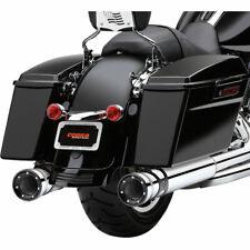 "Cobra Chrome 4.5"" Race-Pro Slip-On Mufflers 1995-16 Harley Touring Models"