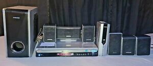 SAMSUNG HT-WP38 DVD HOME THEATER SYSTEM W / SPEAKERS - WIRELESS LINK - REMOTE